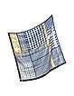 Pied de Poule Printed Silk Square Scarf - Mila Schon
