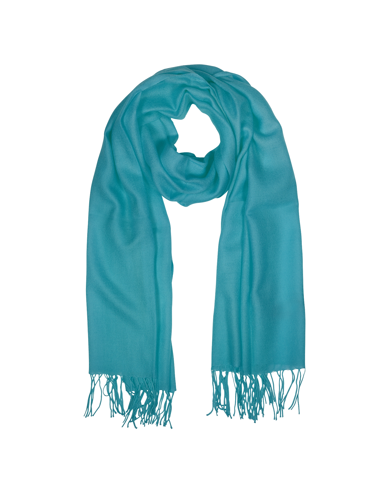 Mila Schon Scarves, Wool and Cashmere Fringed Stole