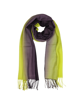 Mila Schon - Cashmere and Wool Fringed Stole