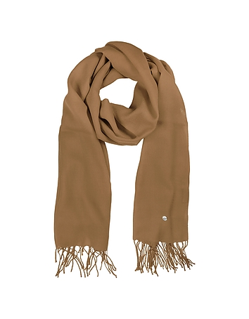 Mila Schon - Camel Wool and Cashmere Stole