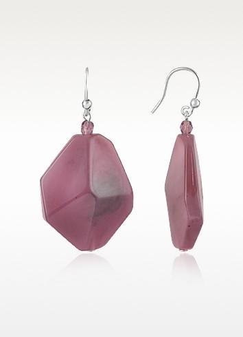 Angled Bead Earrings - I Bijoux di Simonetta