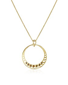 Silver Vermeil Pendant Necklace - Sho London