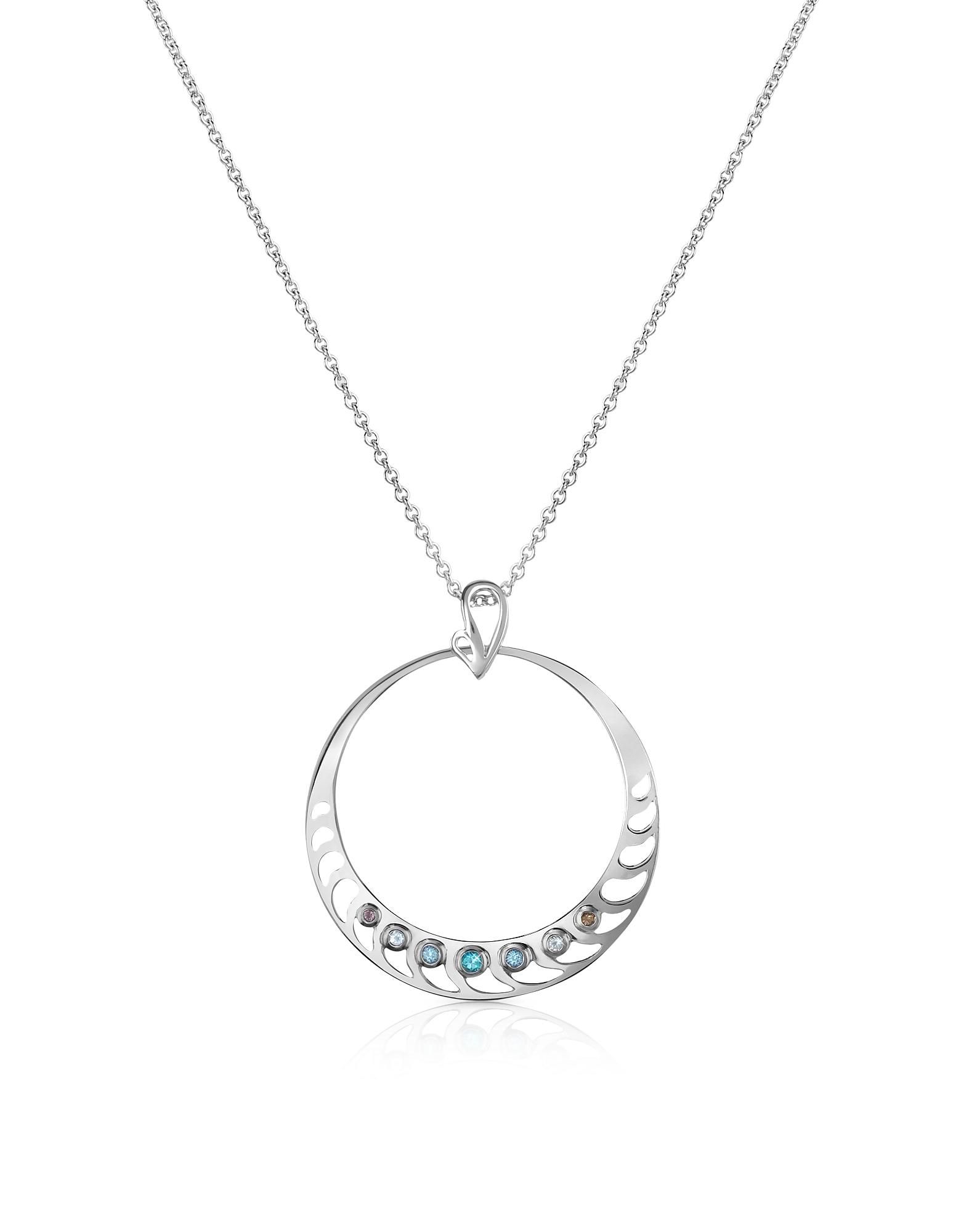 Ожерелье с Подвеской из Серебра 925 пробы