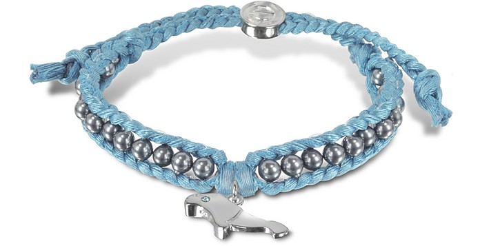 Manatee Friendship Silk Bracelet - Sho London