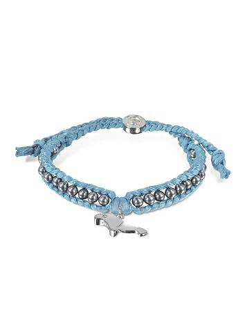 Sho London - Manatee Friendship Silk Bracelet