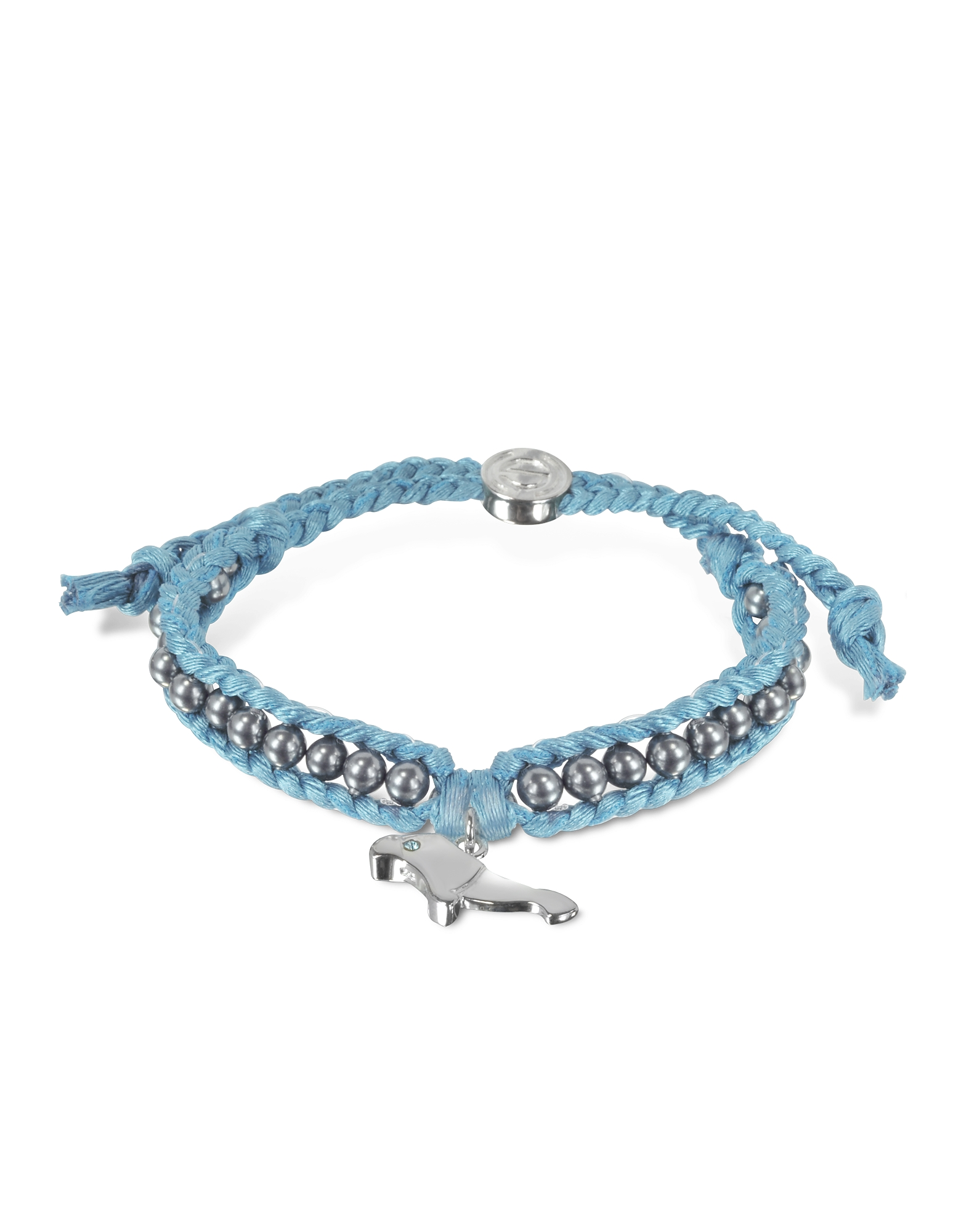 Sho London Bracelets, Manatee Friendship Silk Bracelet