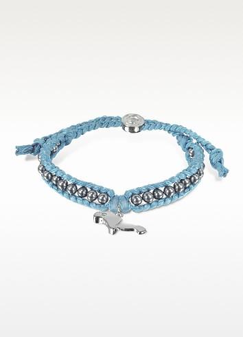 Manatee Friendship Silk Bracelet - Sho London