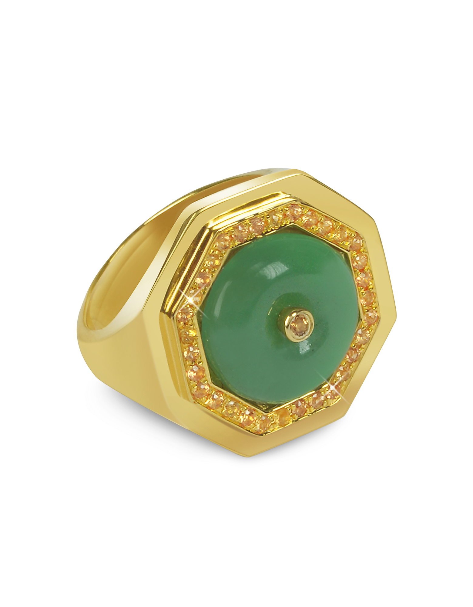 Sho London Rings, Aventurine Clementina Ring