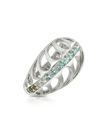 Sho London - Sterling Silver Mari Rush Ring