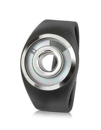Forzieri DE Philippe Starck O-Ring Digitale Armbanduhr aus Kautschuk