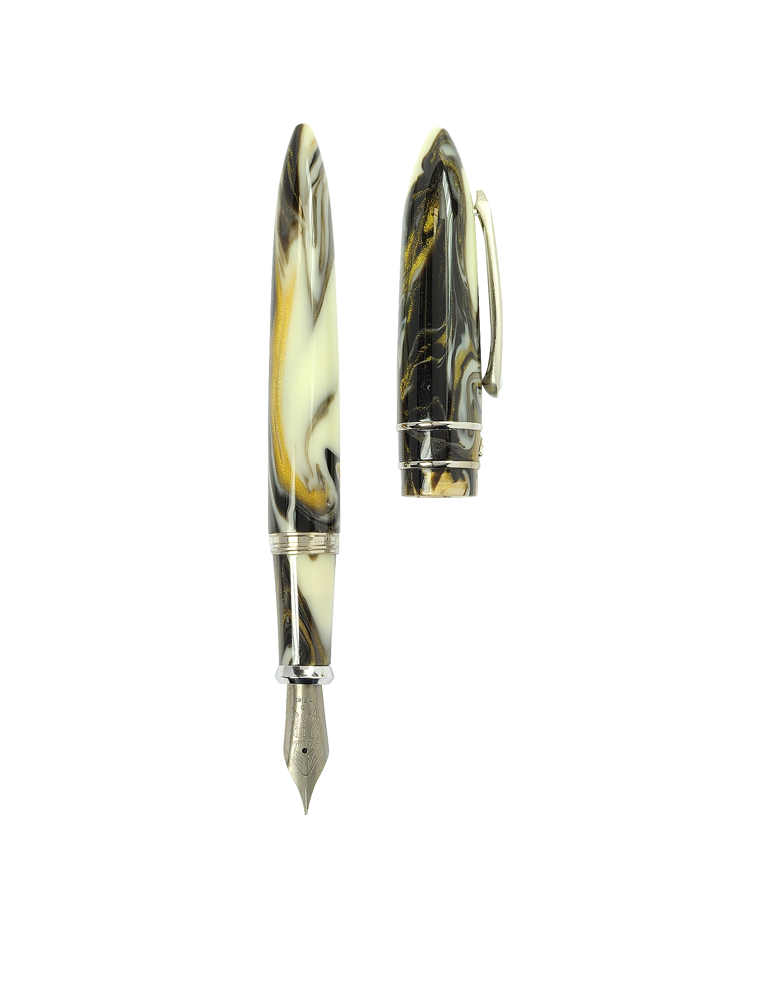 Stipula Writing Instruments, Model T Pirite Fountain Pen