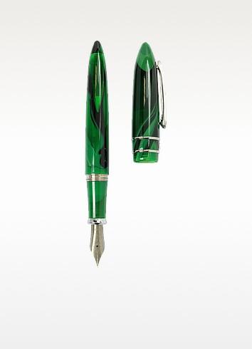 Model T Malachite Fountain Pen - Stipula