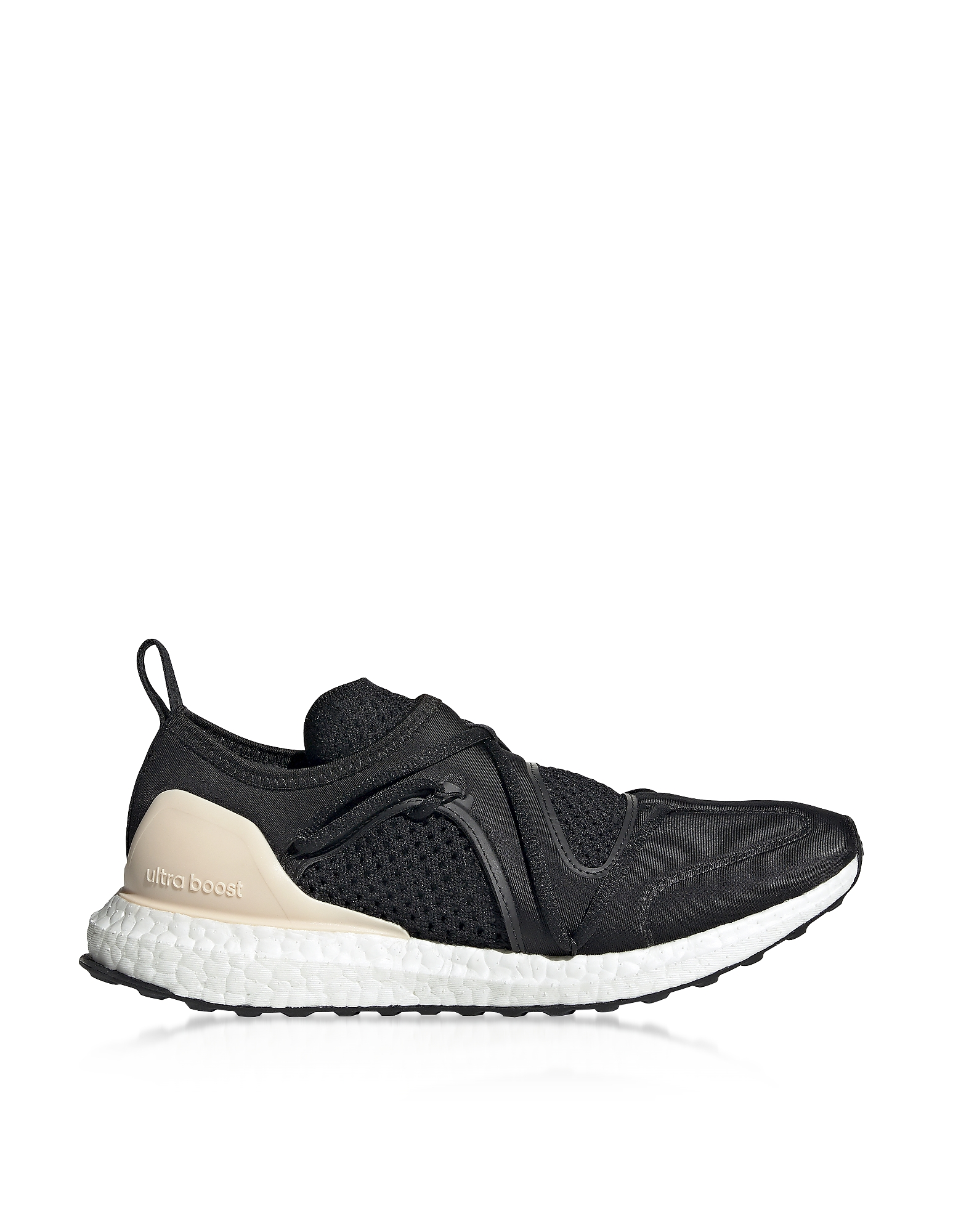 Adidas Stella McCartney Shoes, Ultraboost T Black Nylon Running Sneakers
