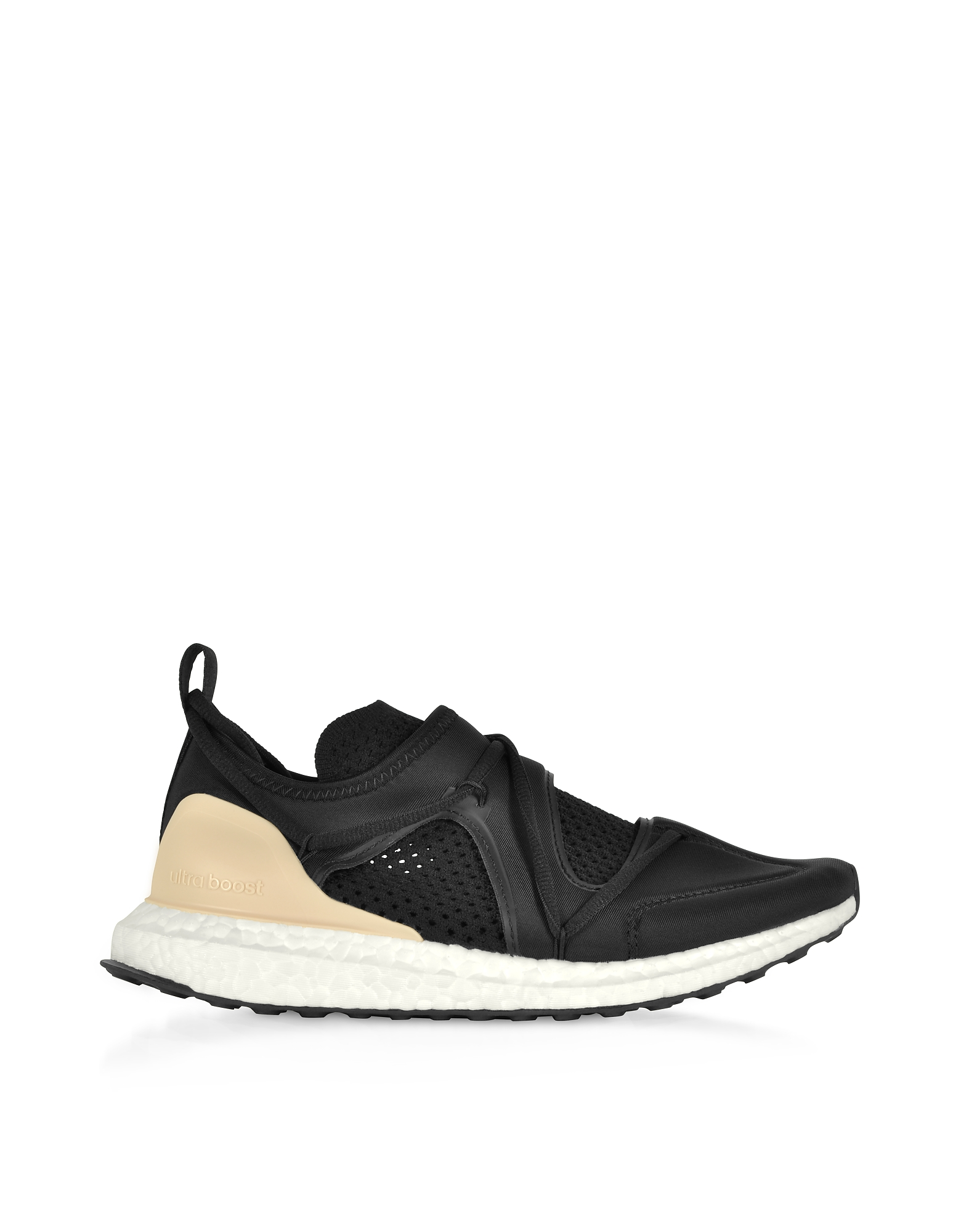 Ultraboost T Black Nylon Running Sneakers