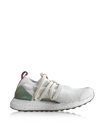 Off White and Vapour Green Ultra Boost X Women's Sneaker