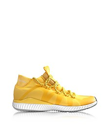 Wonder Glow Crazymove Bounce Sneaker Mid Top Giallo Sole - Adidas Stella McCartney