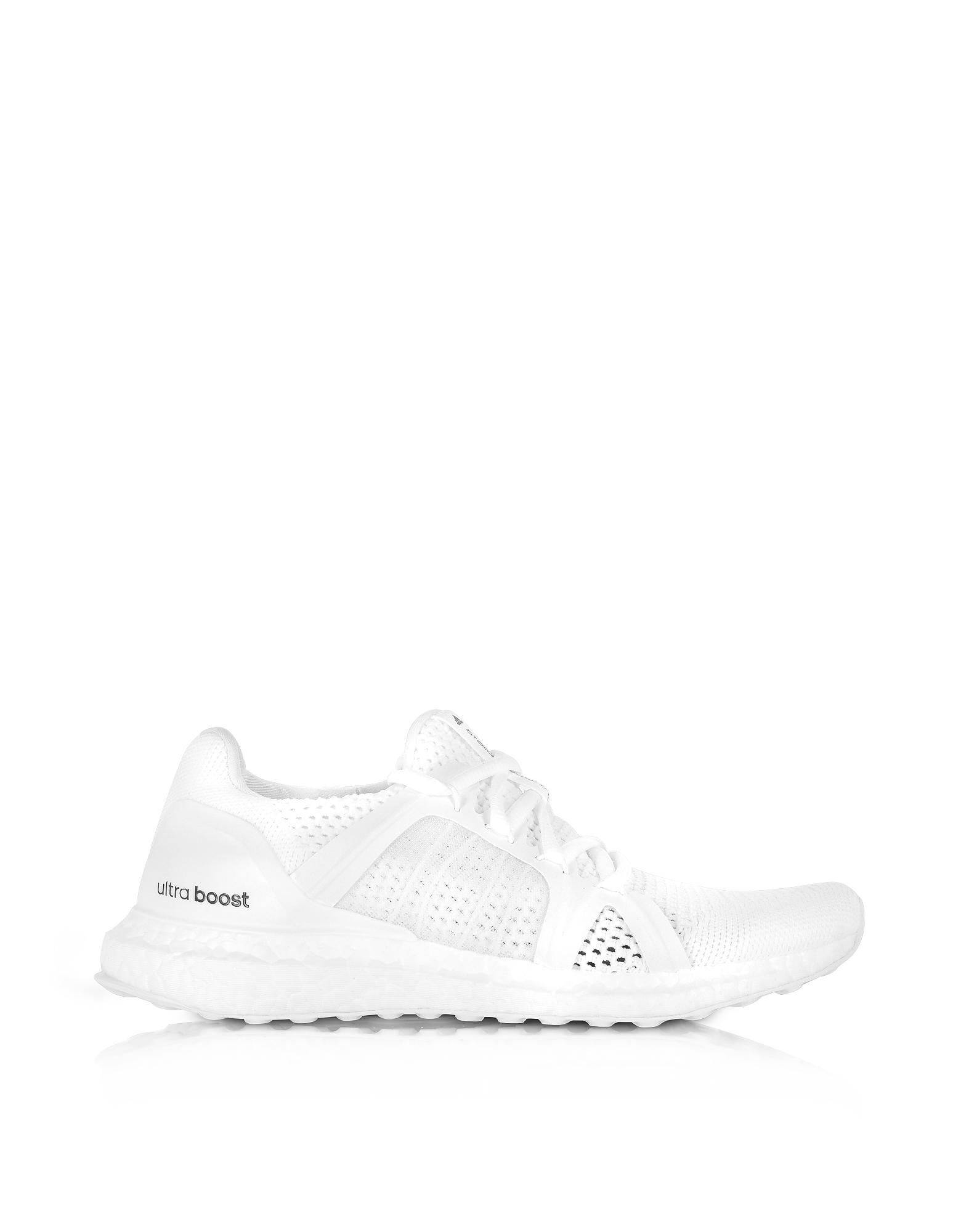 Adidas Stella McCartney Ultra Boost - Белые Женские Кеды