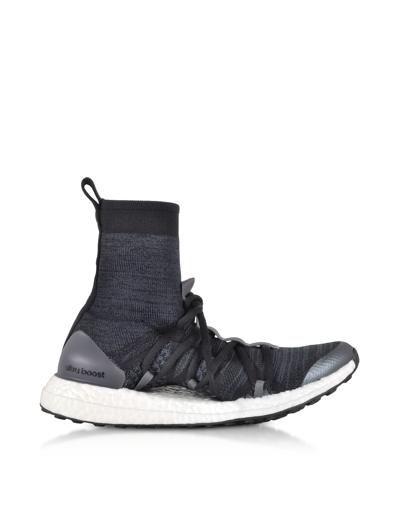 Ultraboost X Mid Top Trainers in Tessuto Nero