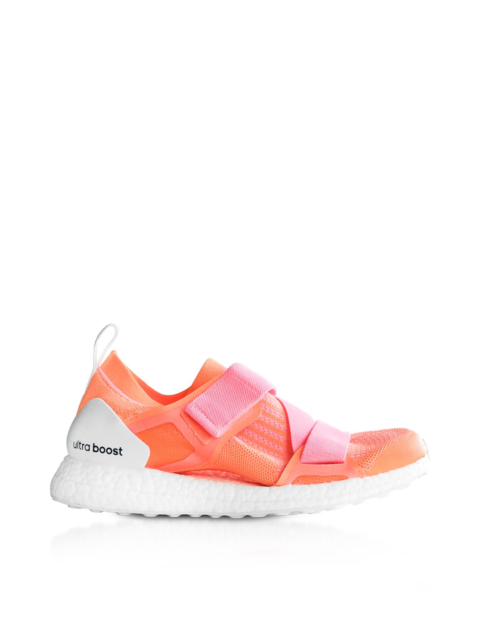 Ultraboost X - Оранжевые и Ярко-Розовые Кроссовки