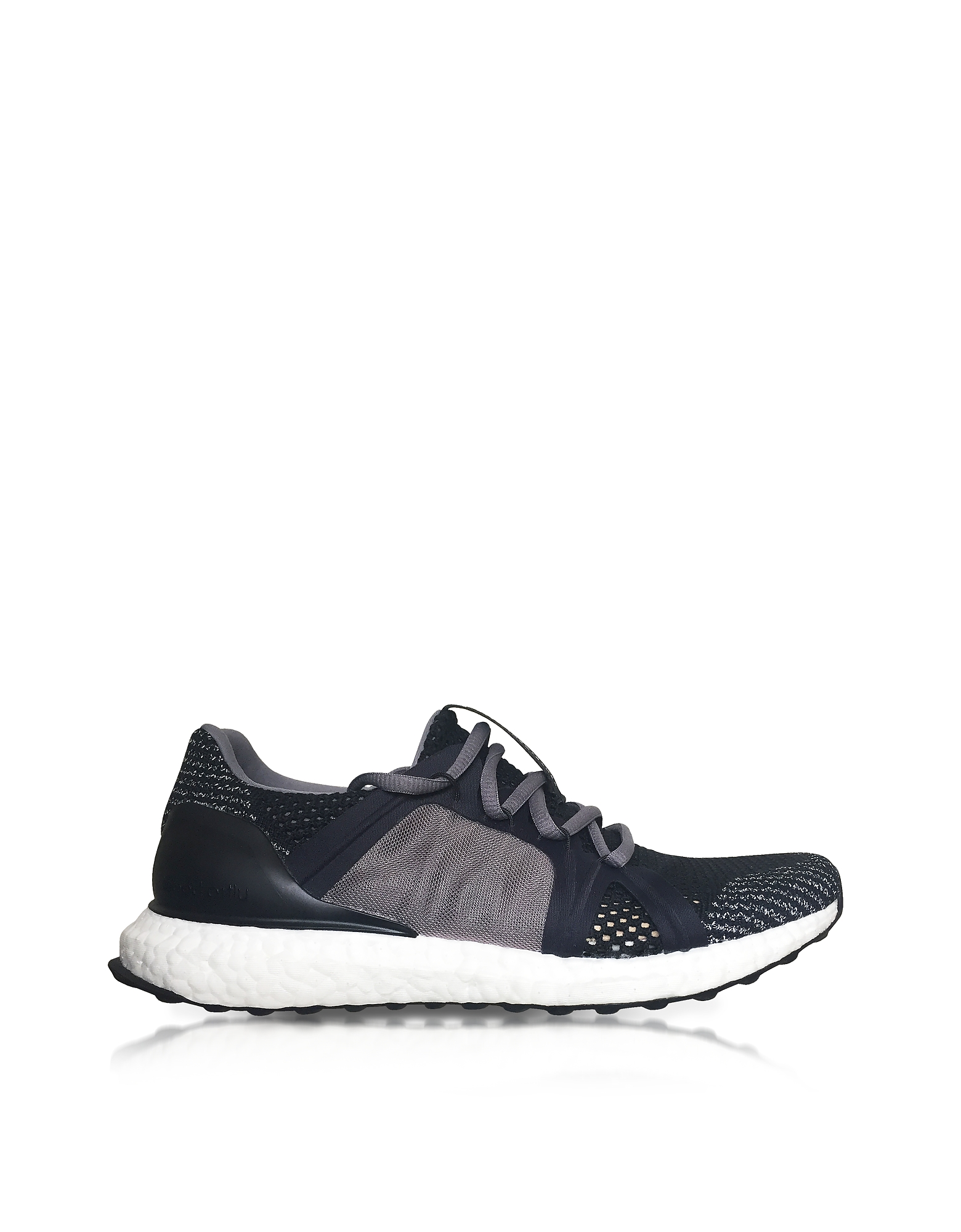 UltraBOOST X Black and Smoked Pink Women's Sneakers