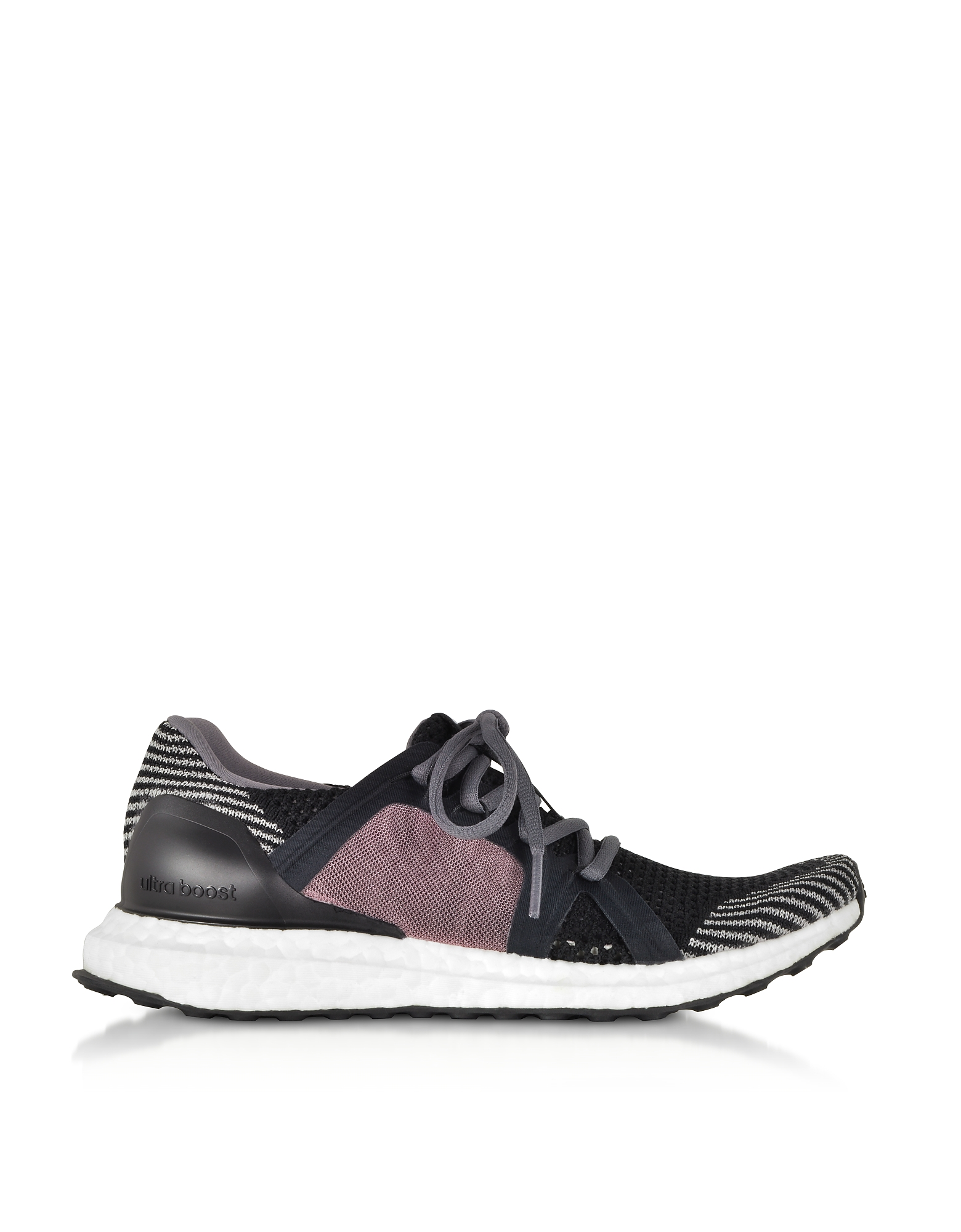 Adidas Stella McCartney Shoes, UltraBOOST X Black and Smoked Pink Women's Sneakers
