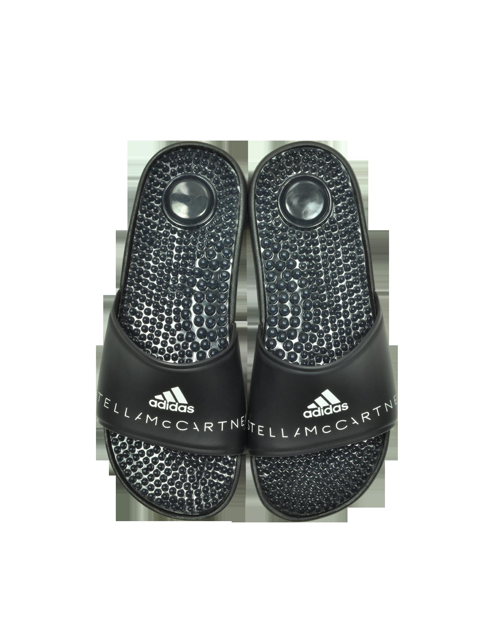 Image of Adissage Black Slide Pool Sandals