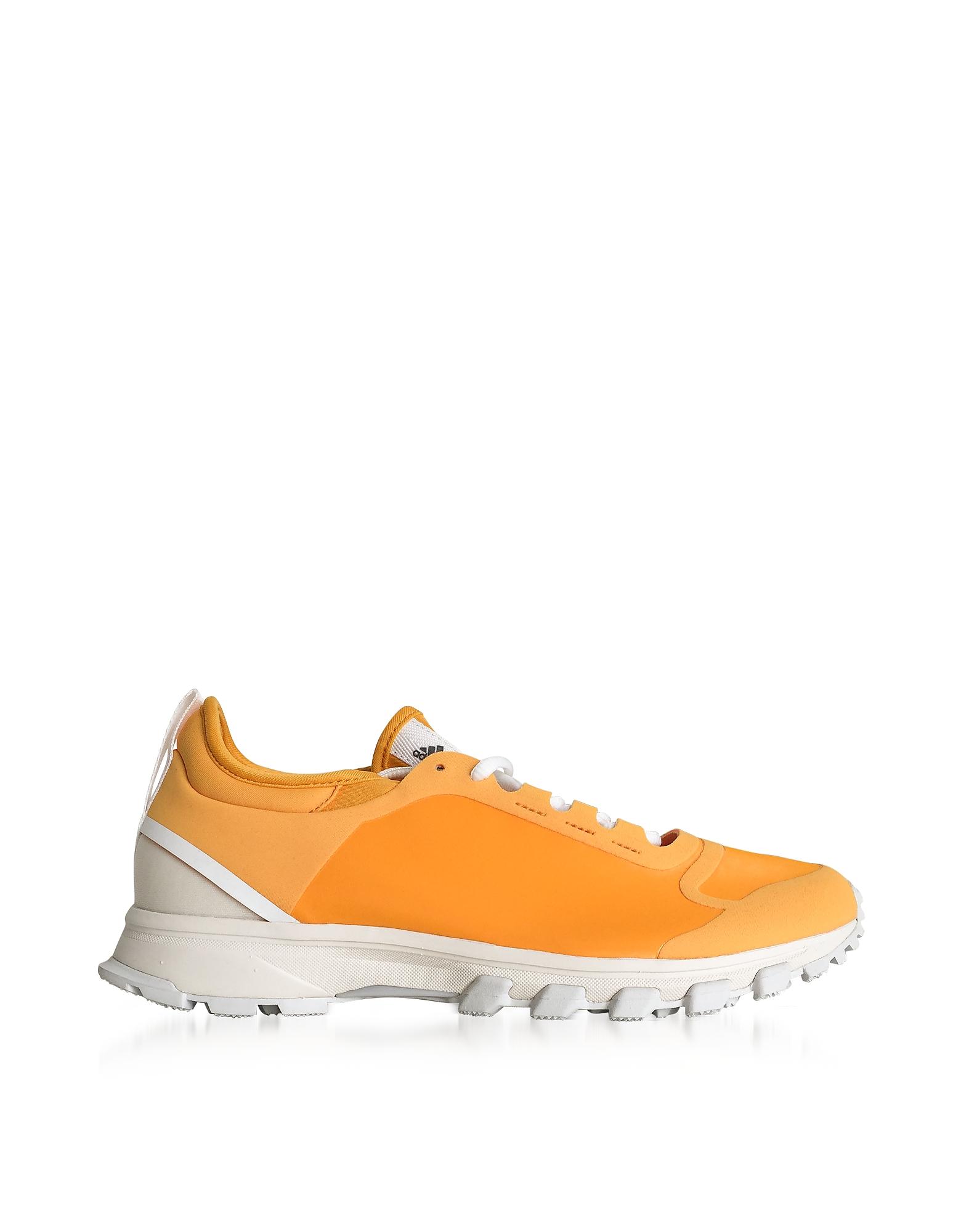 Adidas Stella McCartney Shoes, Deep Yellow and Radiant Orange Adizero XT Trainers