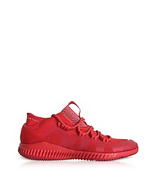 Core Red CrazyTrain Bounce Mid Sneakers - Adidas Stella McCartney