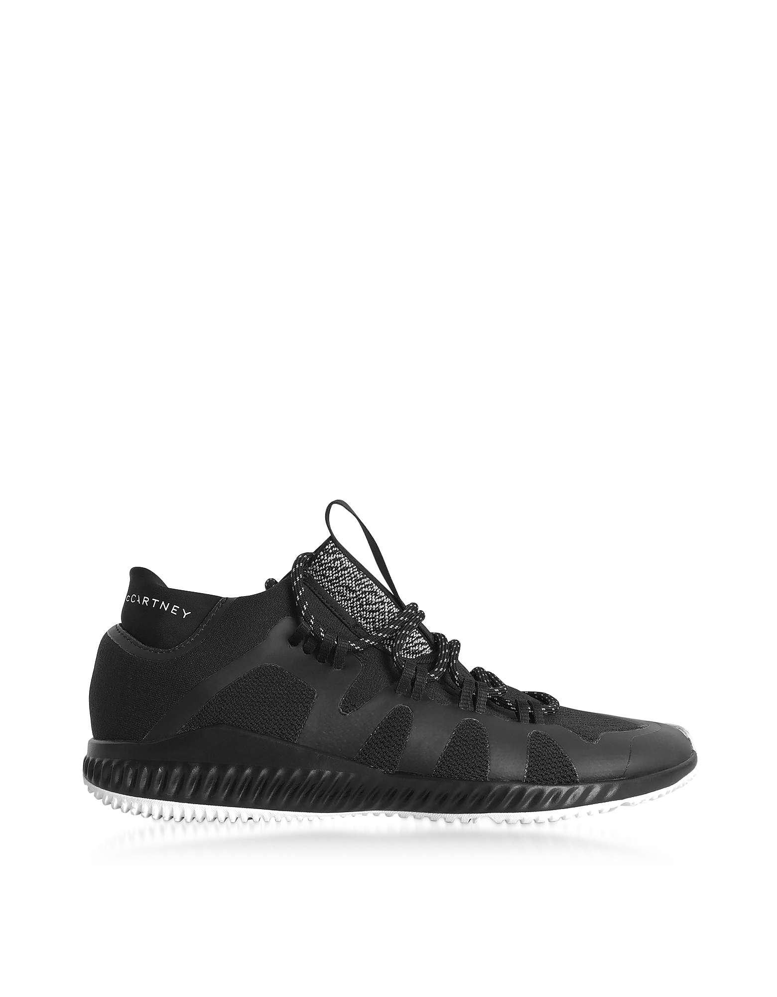 Adidas Stella McCartney Shoes, Black CrazyTrain Bounce Mid Sneakers