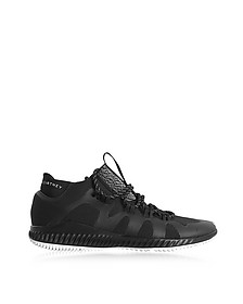Black CrazyTrain Bounce Mid Sneakers - Adidas Stella McCartney