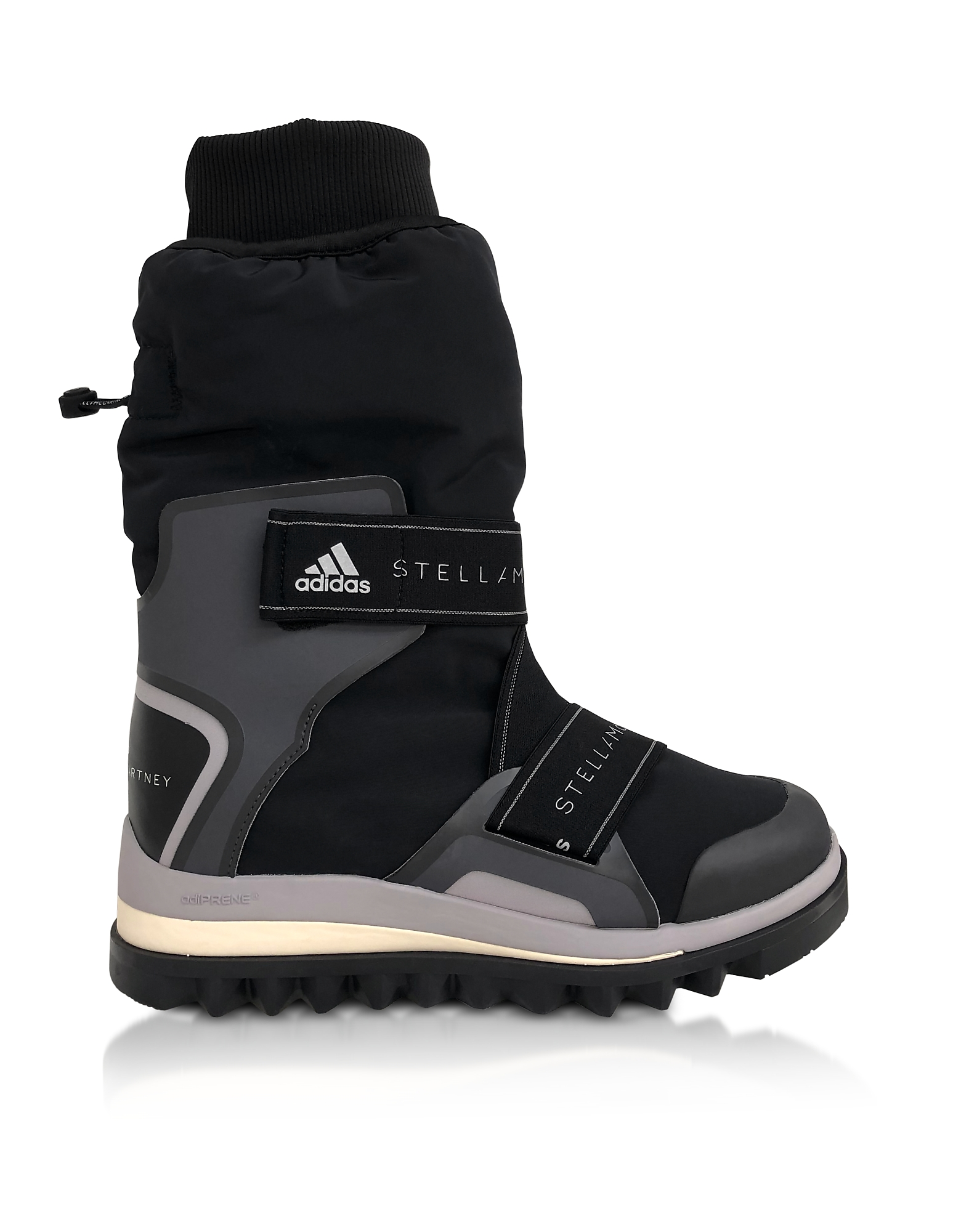 Black and Pearl Gray Winterboots
