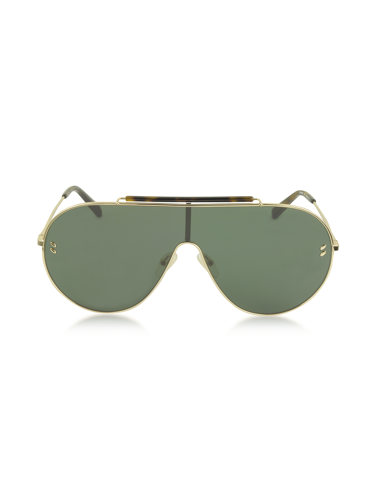 Stella McCartney Sunglasses, SC0056S Metal Aviator Women's Sunglasses