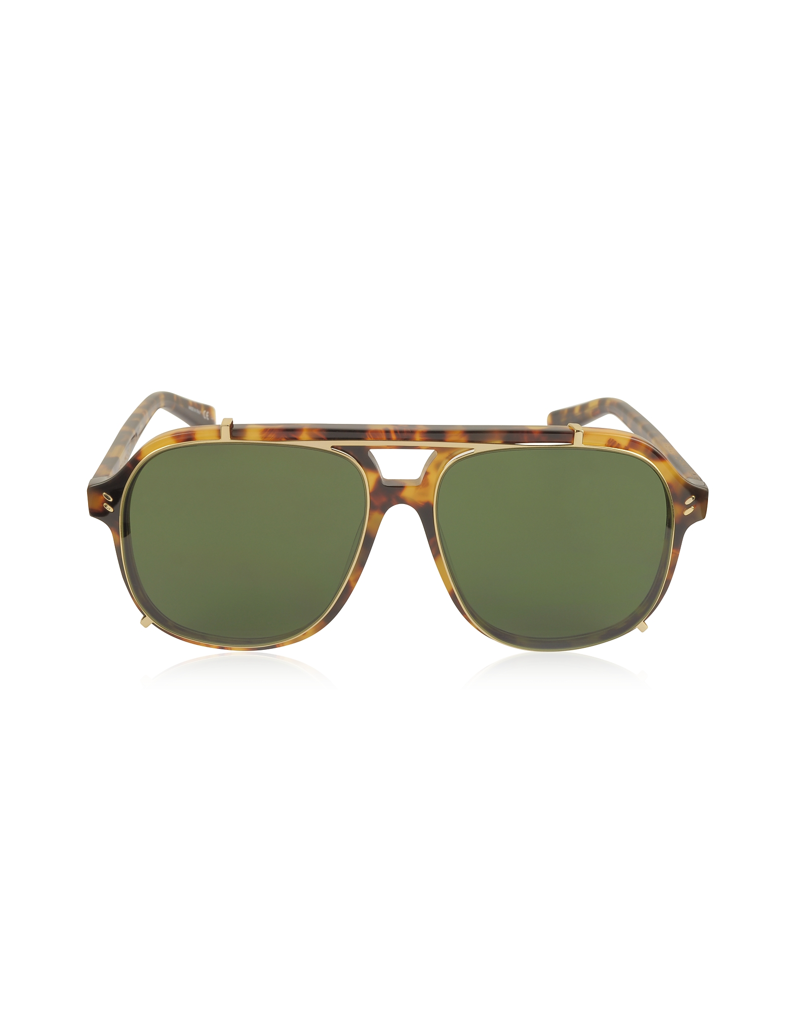 SC0076S Aviator Shield Acetate Women's Sunglasses