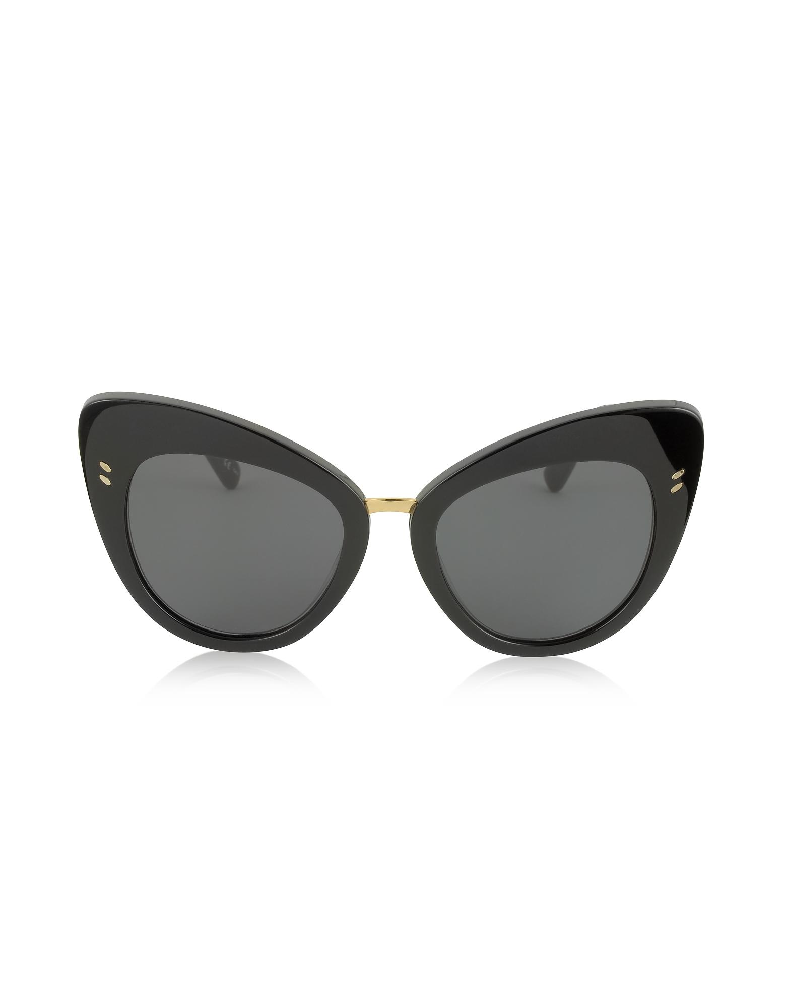 Stella McCartney Sunglasses, SC0037S Acetate Cat Eye Women's Sunglasses
