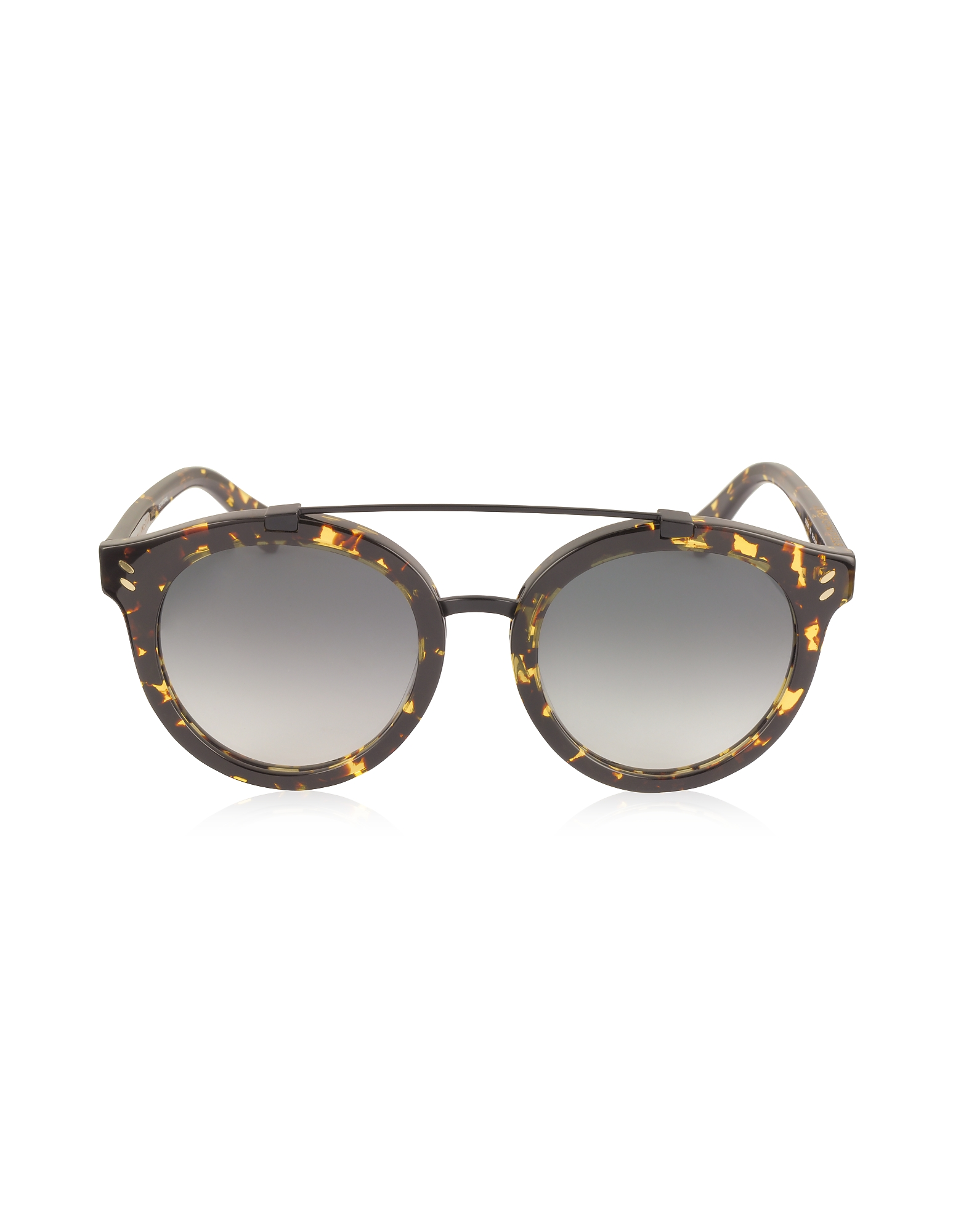 Stella McCartney Sunglasses, SC0054S Round Aviator Acetate Women's Sunglasses