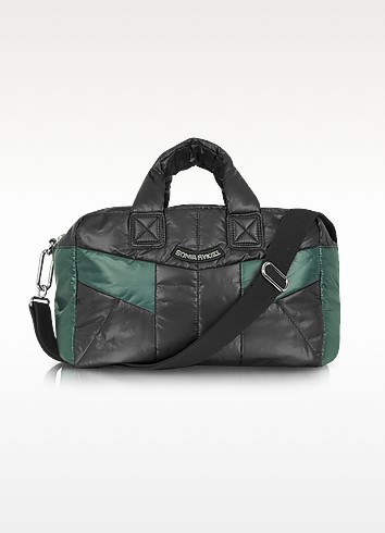 Patchwork - Nylon Boston Bag - Sonia Rykiel