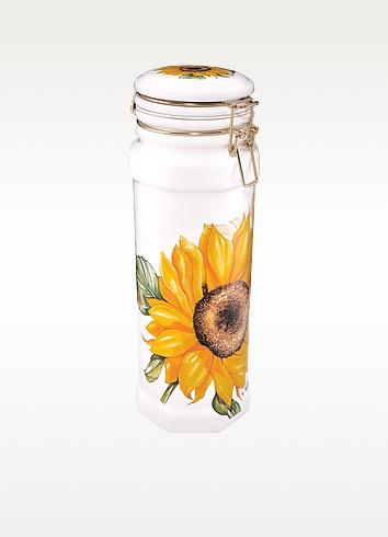 Sunflower Ceramic Spaghetti Holder - Spigarelli
