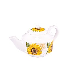 Sunflower Ceramic Teapot - Spigarelli