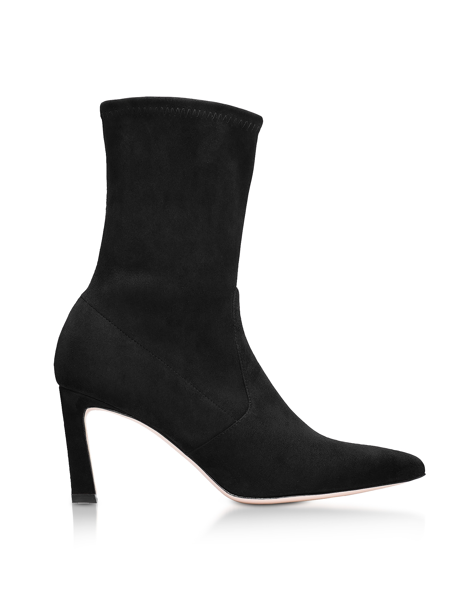Rapture Ankle Boots in Suede Nero