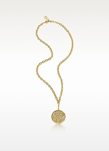 Shooting Star Gold-Plated Pendant Necklace - SWAROVSKI CRYSTALLIZED™