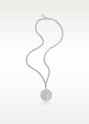Shooting Star Silver-Plated Pendant Necklace - SWAROVSKI CRYSTALLIZED™