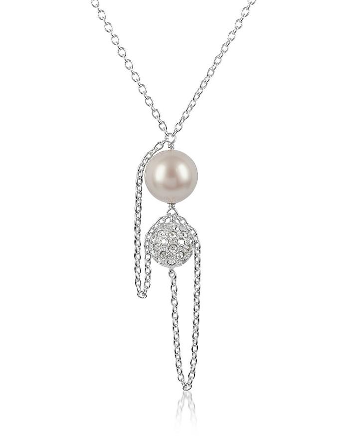 Liquid Pearl Pendant Necklace - SWAROVSKI CRYSTALLIZED™