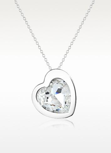 Rainbow Heart Necklace - SWAROVSKI CRYSTALLIZED™