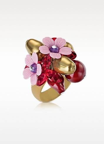 Rich Berry Ring - SWAROVSKI CRYSTALLIZED™