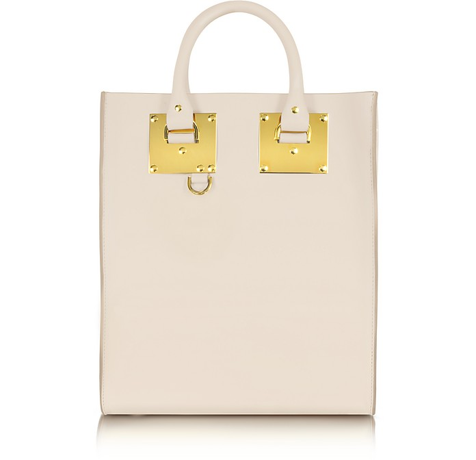 Cream Albion Mini Tote Bag - Sophie Hulme