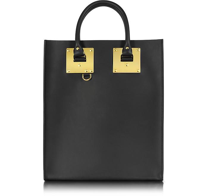 Black Albion Mini Tote Bag - Sophie Hulme