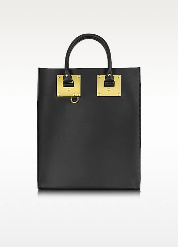 Black Albion Mini Tote Bag - Sophie Hulme