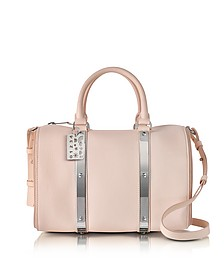 Blossom Pink Charlton Leather Medium Bowling Bag - Sophie Hulme
