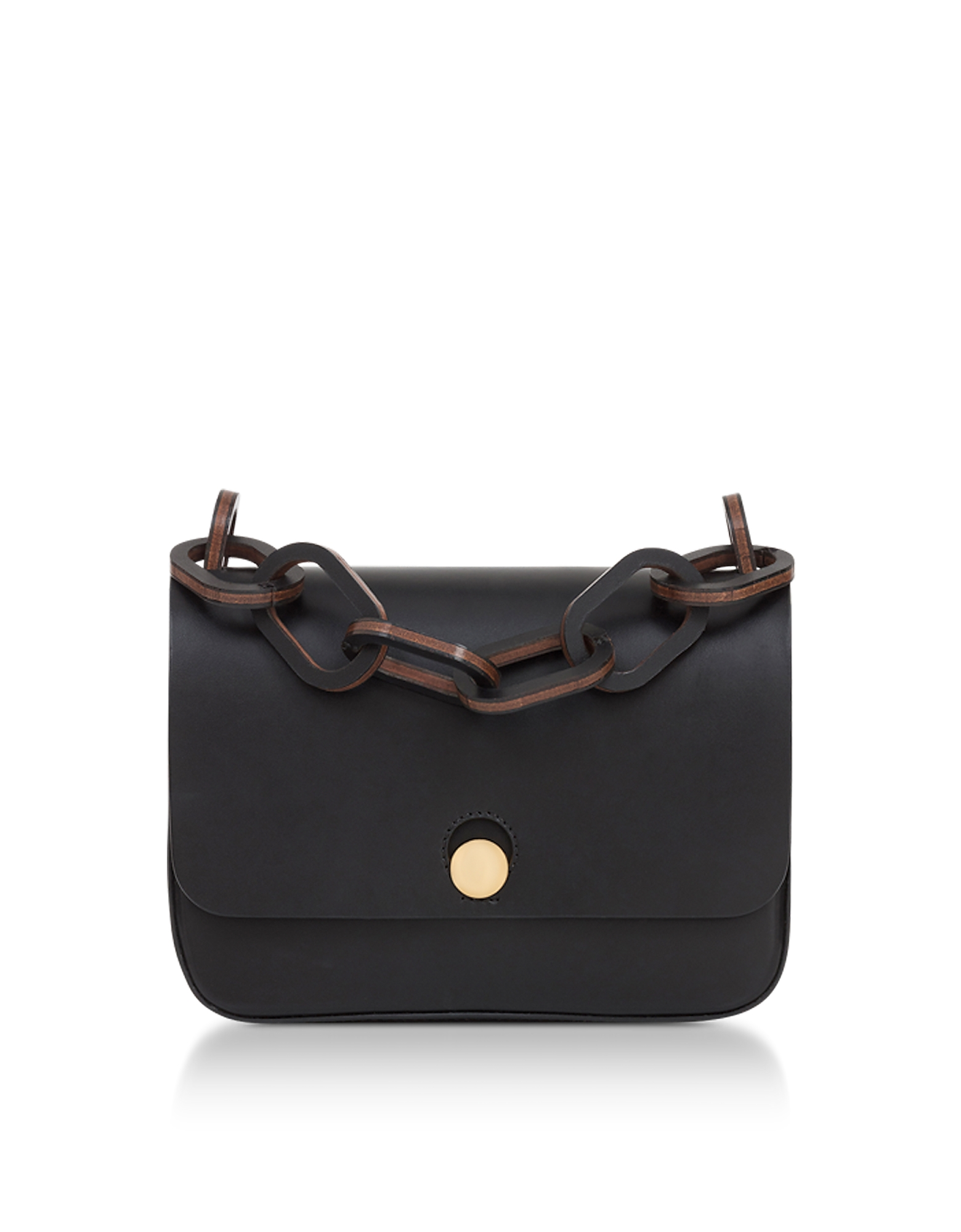Sophie Hulme Handbags, Black Small Spring Crossbody