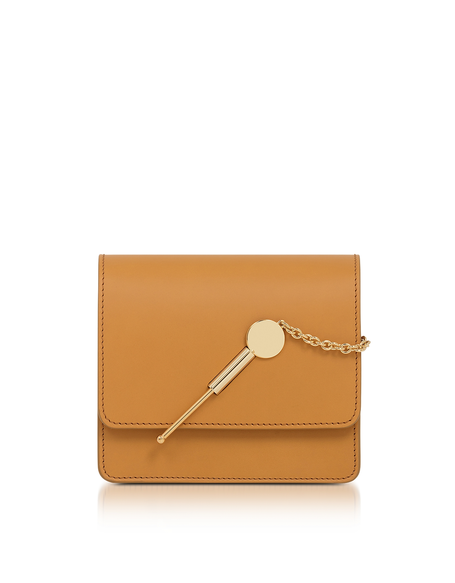 Sophie Hulme Handbags, Dark Butter Small Cocktail Stirrer Bag